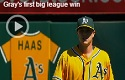 Sonny Gray first big league win